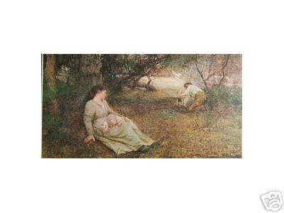 "This poem was inspired by the painting by FREDERICK McCUBBIN ""ON THE WALLABY TRACK"", 1896"