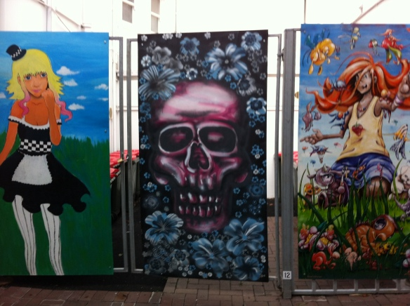 Triptych of Horror